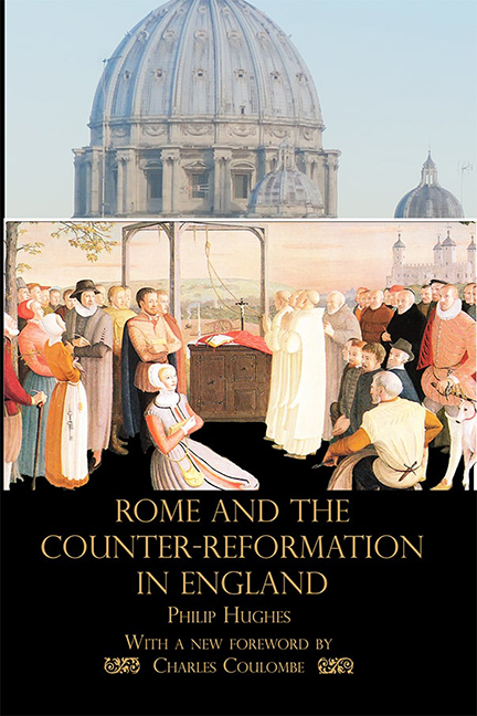 Rome and the Counter-reformation in England
